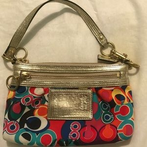 Coach purse/wristlet